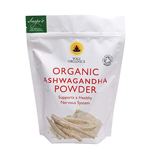 Yogi Organics. Organic Raw Ashwagandha Powder-250grams - Soil Association Certified
