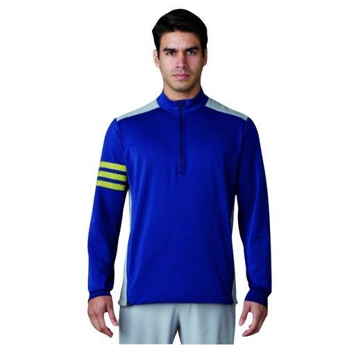 adidas Competition Maglione con Zip da Golf, Uomo, Uomo, Competition, Blu, XS