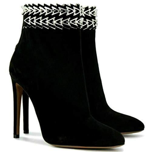 ALAÏA Paris Velvet 7H3T656CH18 C999 Highheels Ankle Boots Stiefel Stiefelette 40
