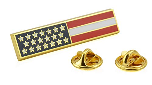 American Flag Uniform Pin For Police and Firefighters