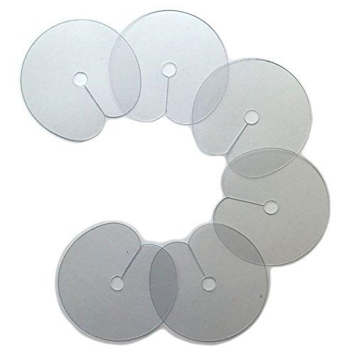 Hermosisimo 6 Schablonen für Haarverlängerung mit Extensions