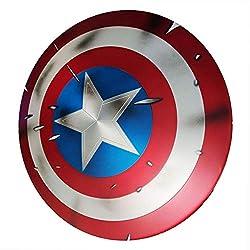 Gmask Aluminum Alloy Captain America Adult Shield 1:1 Replica