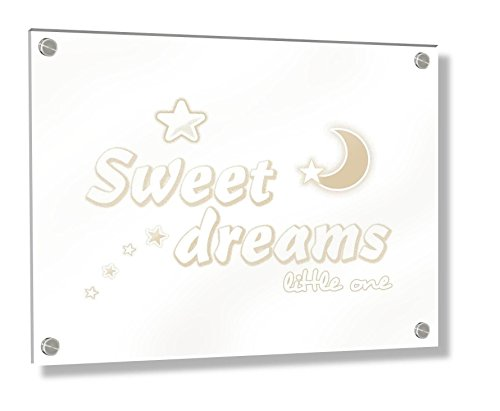 crema crema Talla:7.4 x 10.5 cm Feel Good Art diamond-polished texto en ingl/és//beb/é recuerdos 14,8/x 21/x 2/cm, grande, color beige, su Little pies rob/ó nuestros corazones