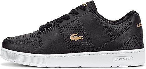 Lacoste Womens 739SFA0035312_37,5 Sneaker, Black, 37.5 EU