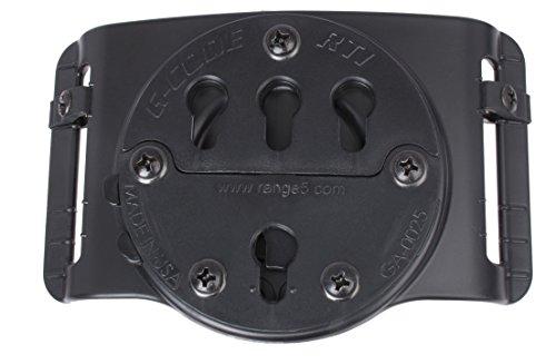 G-CODE RTI Adjustable Belt Slide-GCA 37- (Black) 100% Made in USA