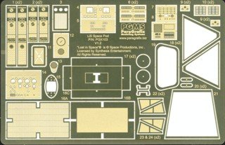 1/24 LiS: Space Pod Photo-Etch & Decal Set for MOE