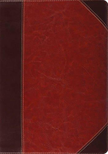 ESV Study Bible (TruTone, Brown/Cordovan, Portfolio Design, Indexed)