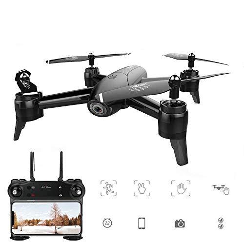Drone com camera HD 4k Sg106 Maverick - 1080P Preto 2 Baterias