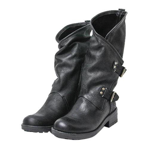 Coolway Damen Alida Stiefel, schwarz (BLK), 39 EU
