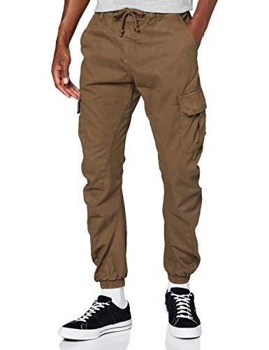 Urban Classics Herren Cargo Jogging Pants Hose, darkground, L