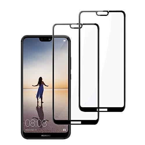 "Gaishi Protector de Pantalla Compatible con Huawei P20 Lite 5.84"", 2-Pack, Cristal Templado,…"