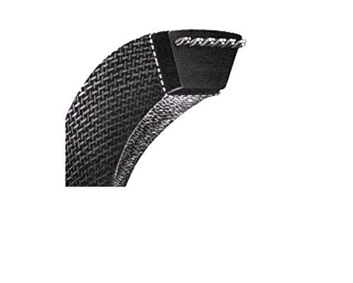 """Jason Industrial MXV4-580 Kevlar Corded V-Belts, Super Duty Clutching, 58"""" Outside Length, 1/2"""" Top Width x 5/16"""" Thick x 40 Degree Angle"""