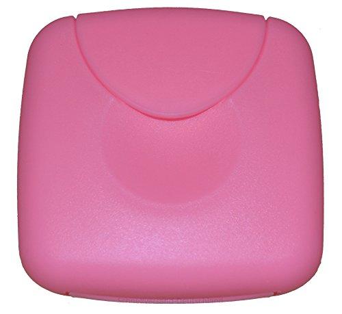 Tampon Aufbewahrung / Tampon Box / Dose für Tampons, Kondome oder Pflaster - Binden und Slipeinlagen (Rosa / Rosé)