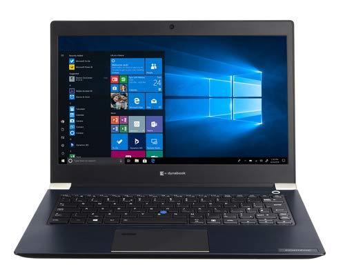 Toshiba Portégé X30-F-161 - Portátil de 13.3' (Intel Core i7-8565U, RAM 16 GB, SSD de 512 GB, Intel UHD 620, Windows 10 Pro 64 bits) Azul ónice - Teclado QWERTY Español