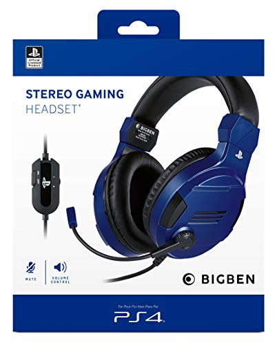 PS4 Headset Stereo V3 blue offizielle Playstation Lizenz