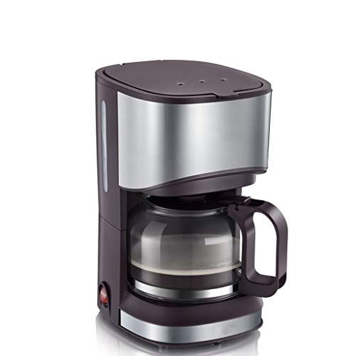 MJYDQ Máquina de café Cafetera Pot Goteo de Tipo Oficina hogar automático de pequeña Escala Tetera de Doble Uso