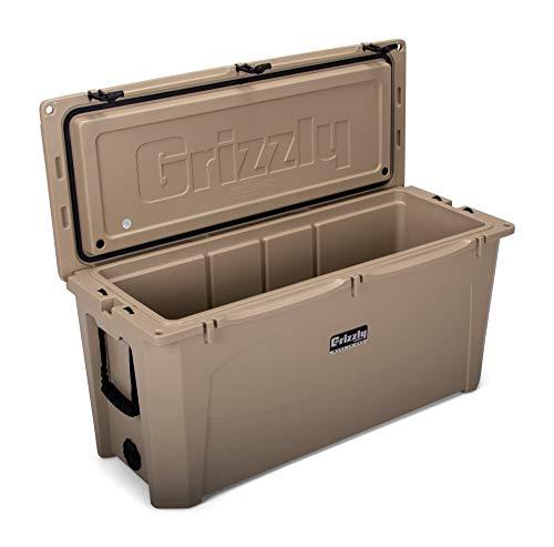 Grizzly 165 Cooler, Tan, G165, 165 QT