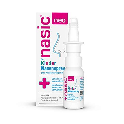 NASIC neo für Kinder Nasenspray, befreit und pflegt die Nase, mit Hyaluron, 10ml