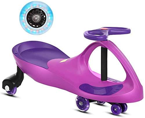 HengYue Baby Twist Car Ride On Toy Ride On Wiggle Car para Niños Y Niñas 2 Años Y Más Wiggle Car,D