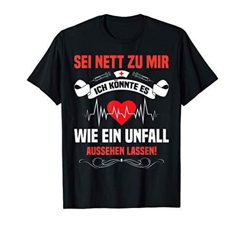 Pflegehelfer Geschenk Altenpfleger Kleidung Altenpflege T-Shirt