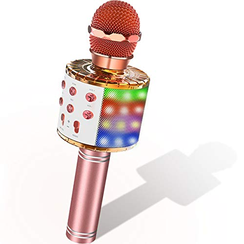 SOKY Microphone Enfants Micro Bl...