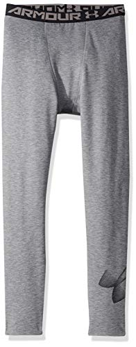 Under Armour Cold Gear Pantalon Garçon, Graphite Light Heather, FR (Taille Fabricant : YLG)