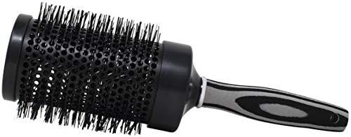 Touche Nylon Bristle Round Brush 3 1/2 inch 118-XL Lightweight Aluminum Professional Styling Round Brush Adding Volume, Lift & Smoothing Long Hair Lengths All Hair Types.