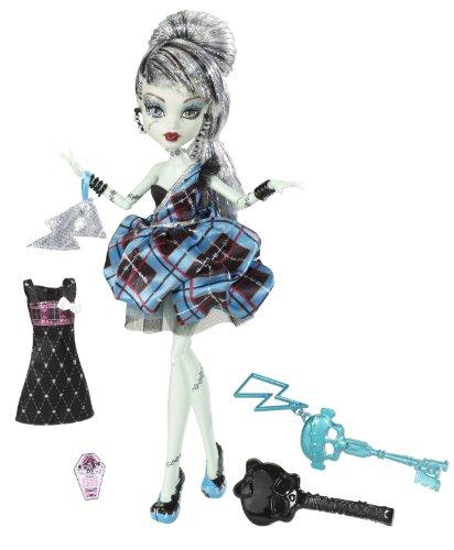 Mattel W9190 - Monster High Frankie Stein, Frankensteins Tochter, Puppe