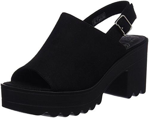 Coolway Alessa, Zapatos con Tacon y Correa de Tobillo para Mujer