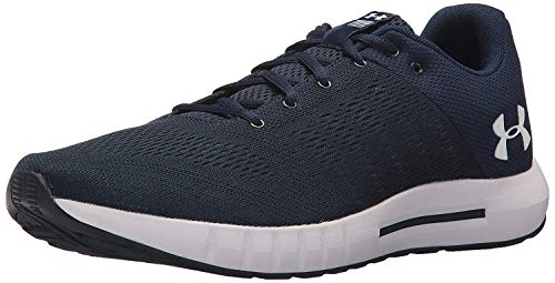 Under Armour Men's Micro G Pursuit Running Shoe, Academy Blue (402)/Black, 11