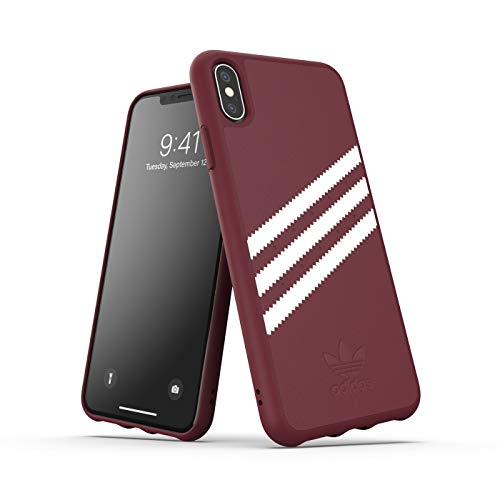 Adidas Originals Samba - Carcasa para iPhone XS MAX, Color Rojo Oscuro