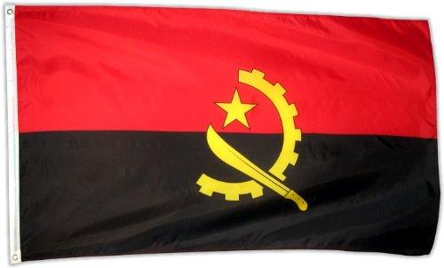 Fahne Flagge Angola 90 x 150 cm