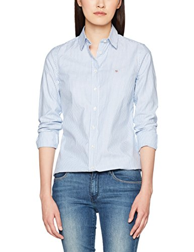 GANT Damen Stretch Oxford Banker Shirt Bluse, Blau (Nautical Blue 422), (Herstellergröße: 44)