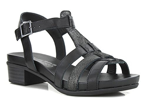 MEPHISTO NADEGE - Sandales / Nu-pieds - Black - Femme - T. 37