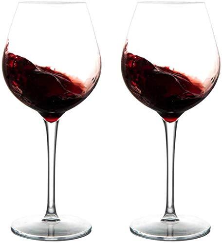 Copas de vino para acampar y uso diario 440 ml / 15 oz Juego de 2 vasos aptos para lavavajillas