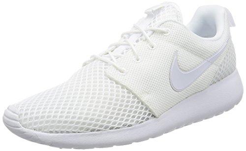 Nike Roshe One Se, Scarpe da Ginnastica Uomo, Bianco (White/White/Pure Platinum/Pure Platinum), 44.5 Eu