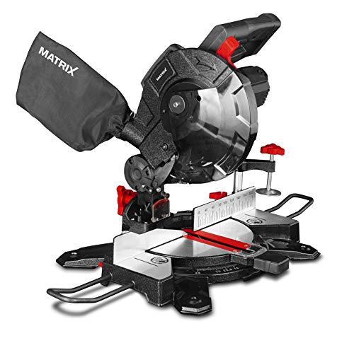 Matrix Kapp-und Gehrungssäge   216 mm   1400 W 210200620   230 V, schwarz, rot, 41x39x31cm