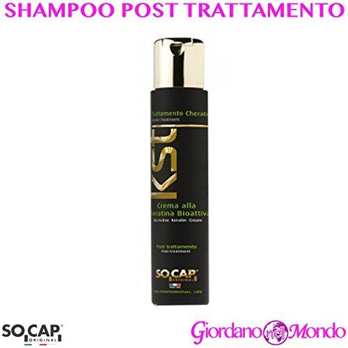 Shampoings cheveux professionnel 250 ml Post Traitement à la cheratina bioattiva professionnel pour coiffeur