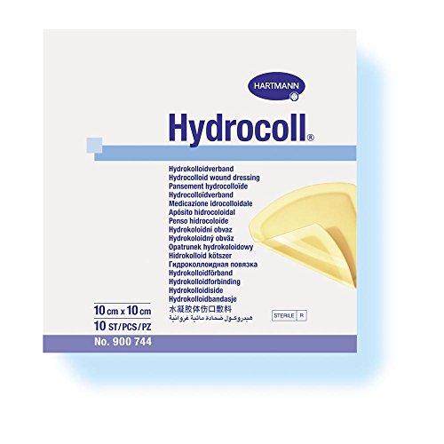 Hartmann Hydrololloid-Verband Hydrocoll, steril, 5 x 5 cm, 10 Stück