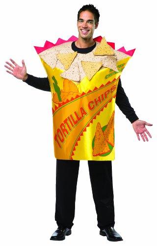 Disfraz de bolsa de tortilla chips para hombre - Estndar