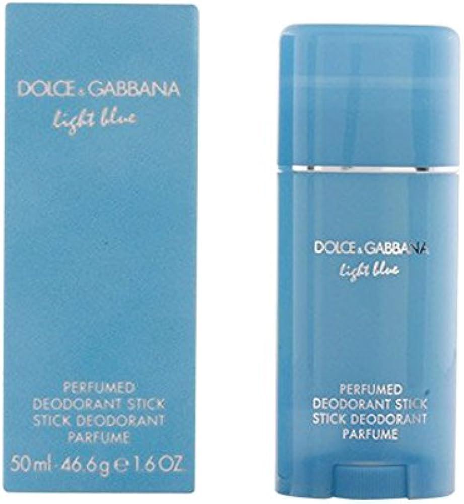 Dolce & gabbana light blue deodorante stick 50 ml donna - 50ml 0737052074368