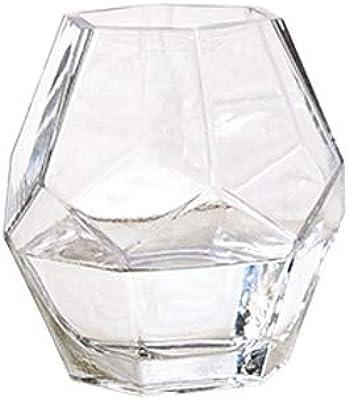 Glasvase dekoglas cube cube H 25 cm 18x18cm Carré Transparent jodeco