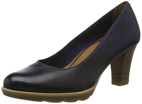 Tamaris Damen 22425 Pumps, Blau (Navy 805), 37 EU