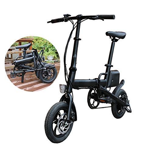 Fxwj Bicicleta Electrica Plegables, 250W Motor Bicicleta Plegable 25 Km/H, Bici Electricas...