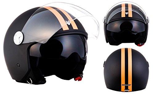 ARMOR Helmets AV-63 Casco Motocicleta, ECE certificado, L (59-60cm), F