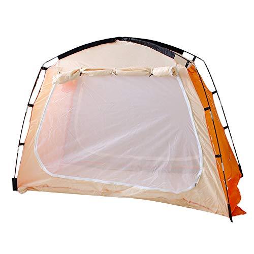 Gecheer Zelt 2/3 Mann Zelt, 2/3 Personen Tunnelzelt, Campingzelt, leichtes Trekkingzelt Zelt Bed Canopy Bettzelte Indoor Privacy Zelt auf dem Bett für gemütlichen Schlaf