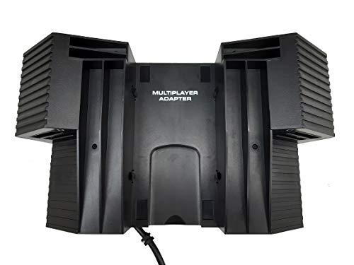 Link-e : Estacion de acoplamiento, soporte, adaptador multijugador compatible con la consola Playstation 2 PS2