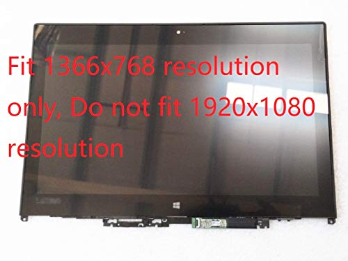 XIDIANPro Touch Screen LCD LED Assembly W/Bezel LP125WH2-SPT2 fit Lenovo ThinkPad Yoga 260 01AX903 12.5 inch HD 1366x768