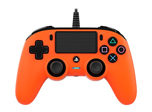 Nacon Compact Controller PS4 Ufficiale Sony PlayStation, Arancio
