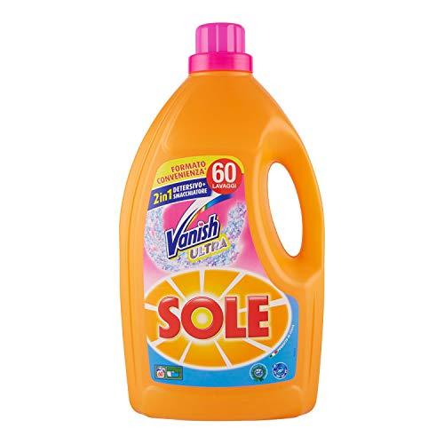 Sole Detersivo Liquido Per Lavatrice, Potere Smacchiante, 60 Lavaggi - 3060 g
